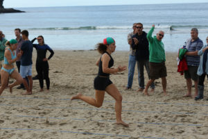 Emily White winning GOLD.